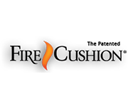 Fire Cushion Logo Sm11
