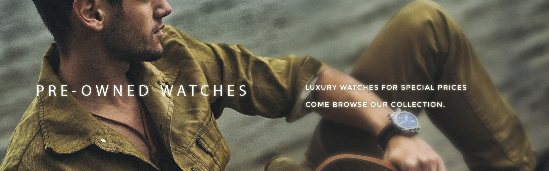 Pre-Owned Watches Banner